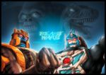 TF Beast Wars Con Print by JasonCardy