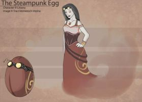 The Steampunk Egg by Ulario