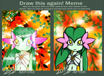 Draw this again - Miola the Cherryblossom by Christin-Cat-Bat