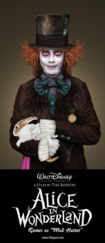 Me as Mad Hatter by rames