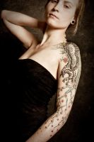 Raven tree tattoo, pro-photo 2 by Meatshop-Tattoo