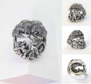 Tree of Life Ring by Cloud-Dragonz