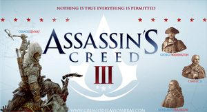 Assassin's Creed III - The characters by josetemg