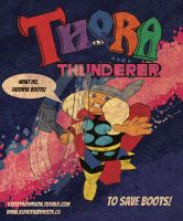 Thora the Thunderer by KerrithJohnson