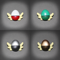 Pokemon - Rescue team rank badges by SuperSiriusXIII