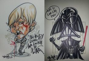 Star Wars in Hokkien by kehchoonwee