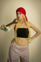 Winry Rockbell cosplay by pink-hika