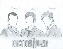 The three Doctors by hi5231