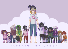 Iadlain Children by number11train