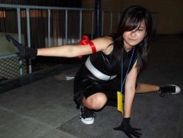 Tifa Lockhart: From a Fight by Aki-Nyan13