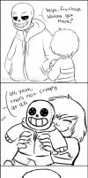 love yourself sans by BamSaraKilledYou