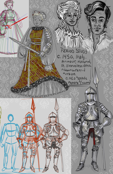 Period Study: 1450 Italy by labrattish
