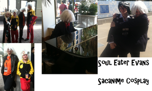 Soul Eater Evans Sacanime Cosplay by Wolfdare