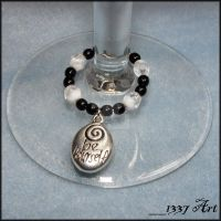 Wisdom Wine Charms by 1337-Art