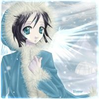Neopets taelia snow faerie by Xeyth