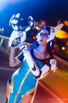 Overwatch Symmetra Cosplay : Meant for Greatness by Khainsaw