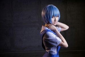 Rei Ayanami-cosplay by Tatooinehermit