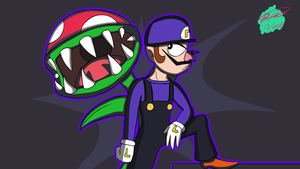 WALUIGI by Twisted4000