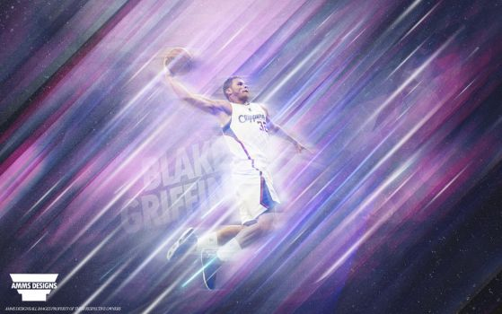 Blake Griffin Wallpaper by AMMSDesings
