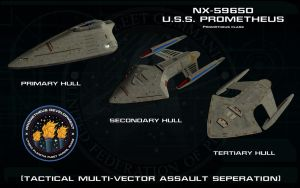 Prometheus class ortho - USS Prometheus - Sheet 2 by unusualsuspex