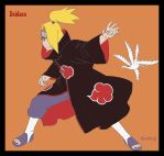 Deidara pose by TheDnql