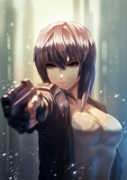 Ghost in the Shell by CTiahao