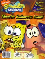 Halloween SpongeBob as Printed by shermcohen
