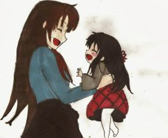 Having  Fun  With  My Daughter ^^ by princesskaoru