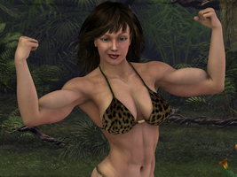 Jungle Girl by Lingster