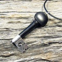 Music Key Pendant by harlewood