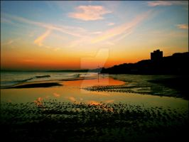 boscombe sunset by butcheredxbutterfly