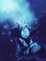 DBZ: Goten in blue by Risachantag