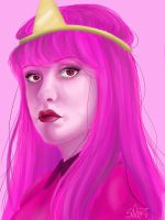 Princess Bubblegum by spl3nd0ra