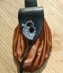 Pouch with Peacock buckle by Dewfooter