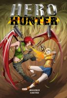 Hero Hunter Book Cover by ares12