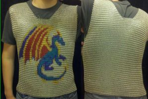 Terreflare Inlay Chainmaille Vest by Terreflare