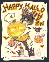 Happy Halloweeeeen by evaYabai