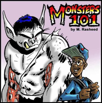 Monsters 101 by M. Rasheed by mrasheed