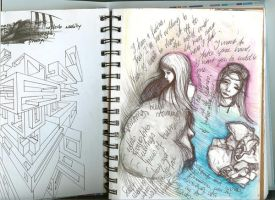 Graphic Diary- Head n Geometry by Moruto