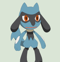 Pokemon Base 120~Riolu 3~ by Xbox-DS-Gameboy
