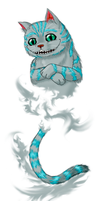 Request - Burton Cheshire Cat by ShadOBabe