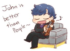 [BBC SHERLOCK]John is better than people by twosugars16