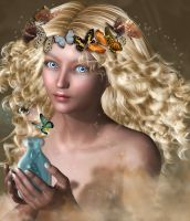 Butterfly Queen by Phlox73