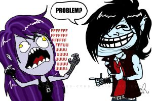 Problem? - FFFFUUUU by Hasana-chan