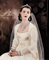 Diana with persian pearls 1940 by HAL-2oo6