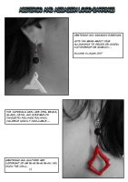 Abstergo and Assassin Earrings by Liva-Wilborg