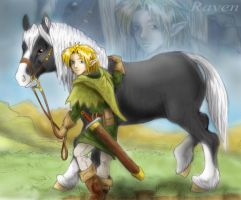 Before there was Link - Raven by LilleahWest