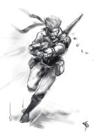 metal gear speed sketch by Chaos-Draco