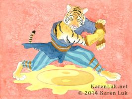 Tiger Stance by karenluk