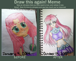 Draw This Again: Starfire by ShatteredPorcelain32